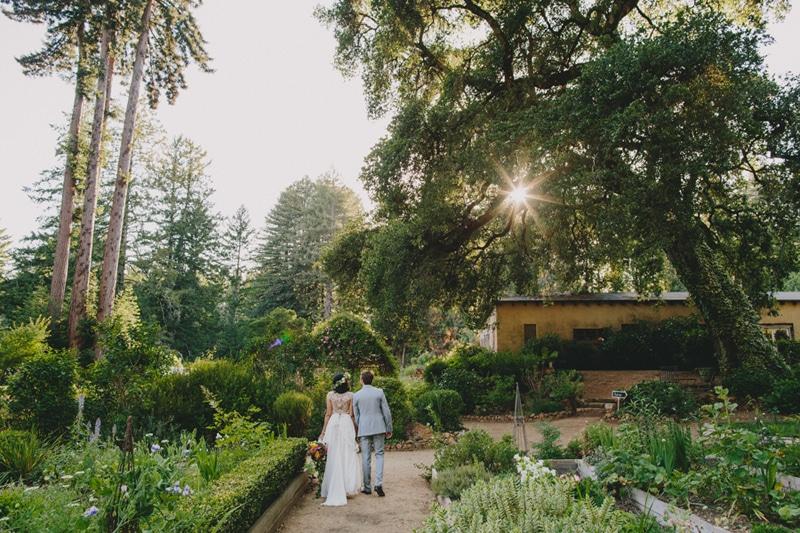 Castle House and Garden Wedding Bonny Doon Wedding__027