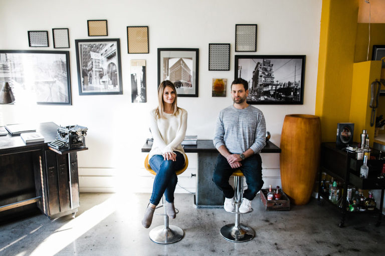 Los Angeles Loft Engagement Session