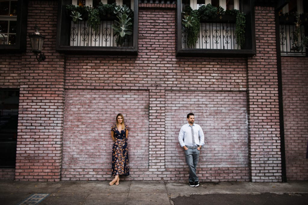 Spring street Engagement session